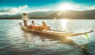 ล่องเรือมาดบ้านสลักคอก-เกาะช้าง